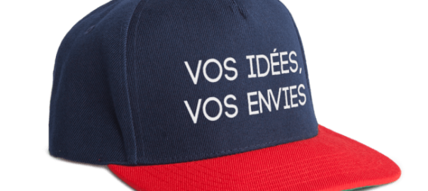 casquette 100% personnalisée