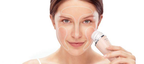 Brosse électrique visage